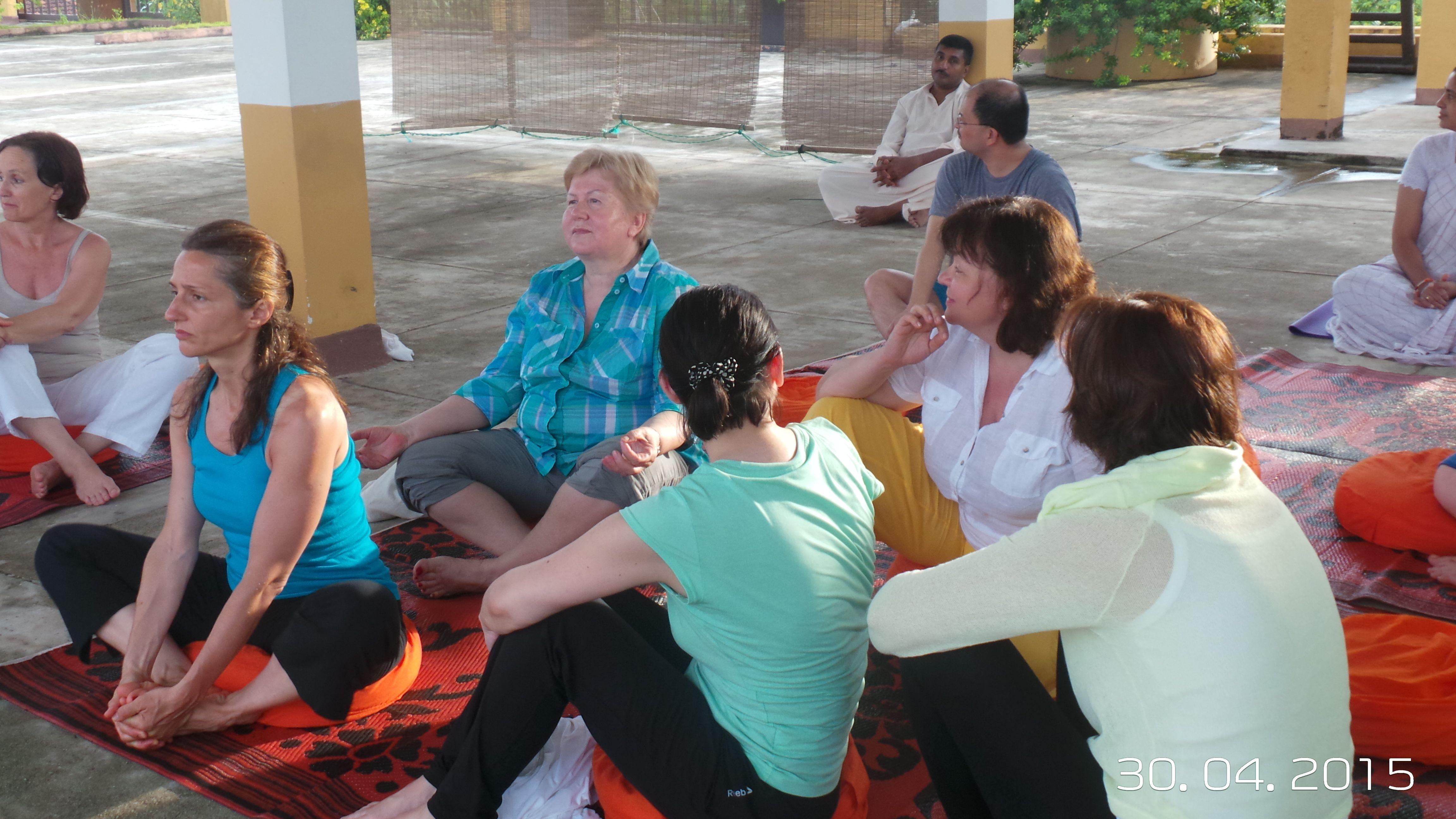 В ожидании медитации